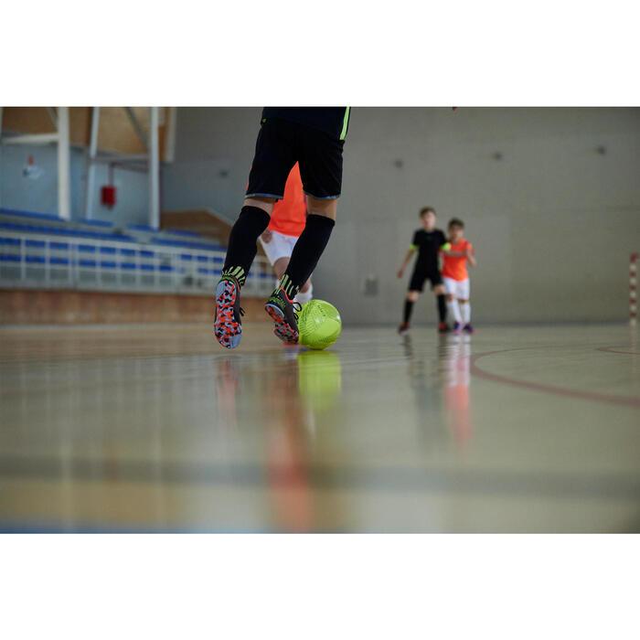 Chaussure de futsal enfant CLR 900 noire orange - 1356932