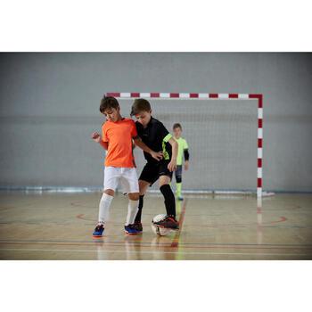 Hallenschuhe Futsal Fußball CLR 900 Kinder schwarz/orange