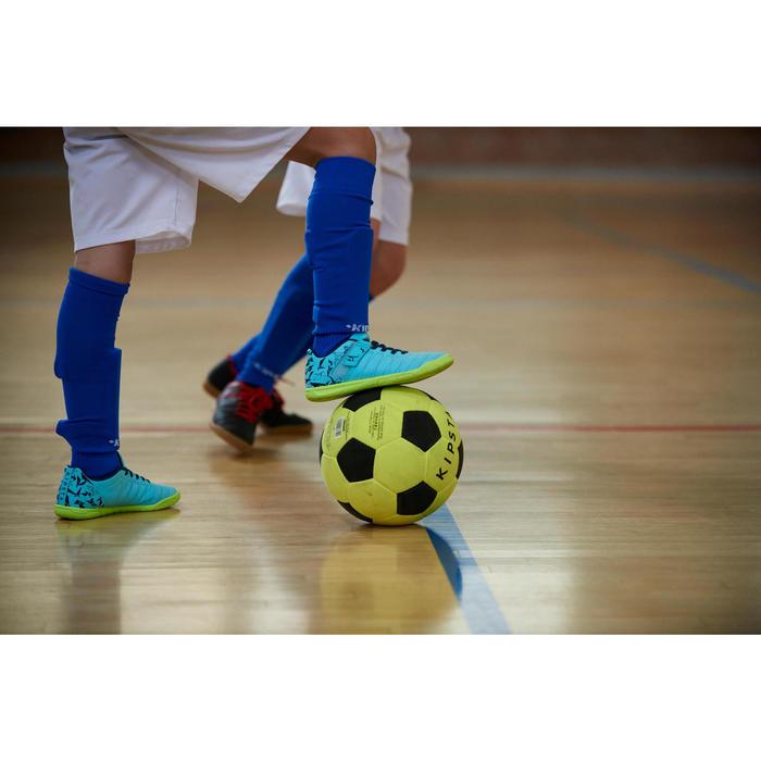 Chaussure de futsal enfant CLR 500 à scratch bleue - 1356956