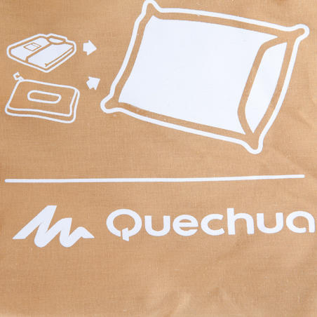 Almohada Camping Quechua Confort Café