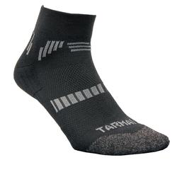 500 Low Adult Basketball Socks Twin-Pack - Black