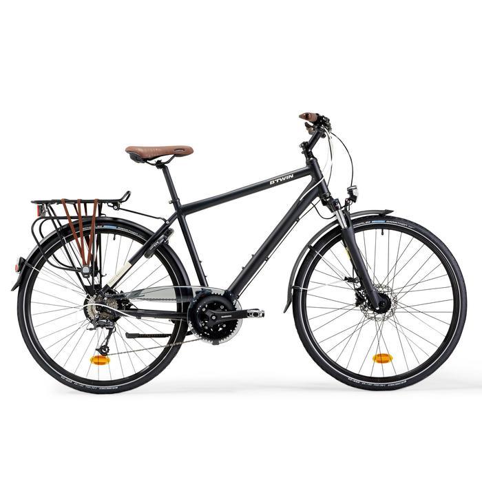 Stadsfiets voor lange afstanden Hoprider 900 hoog frame - 1357022