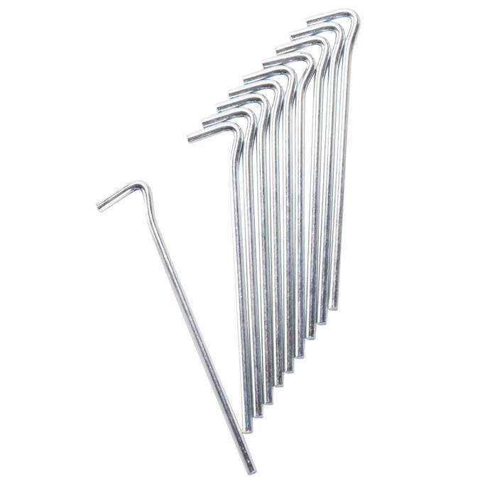 Zeltheringe aus Stahl 18 cm (x10)