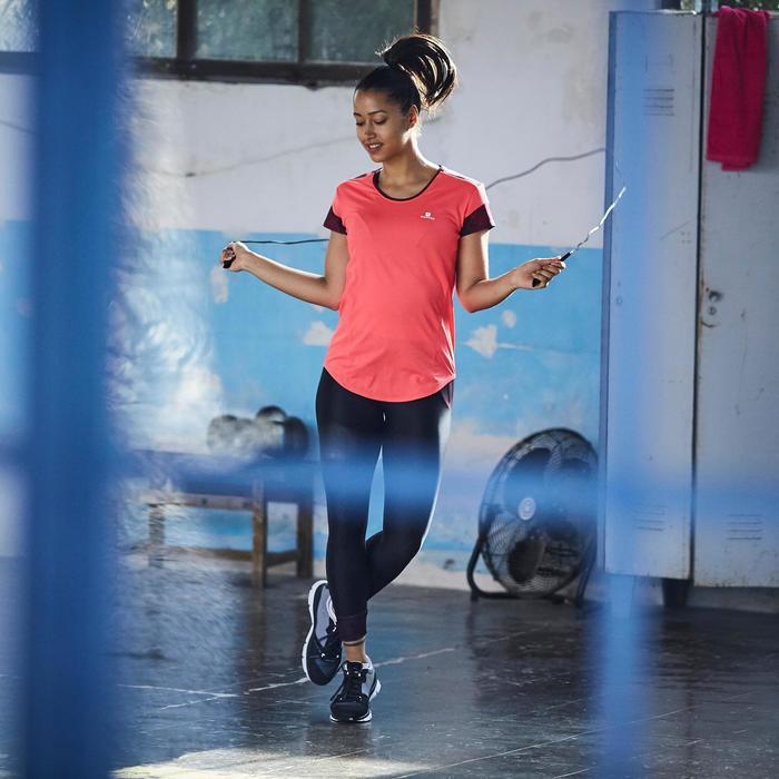 T-shirt fitness cardio femme 500 Domyos - 1357189
