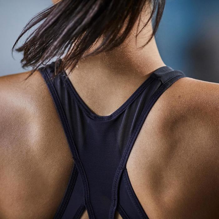 Brassière fitness cardio-training femme noire 900 - 1357191