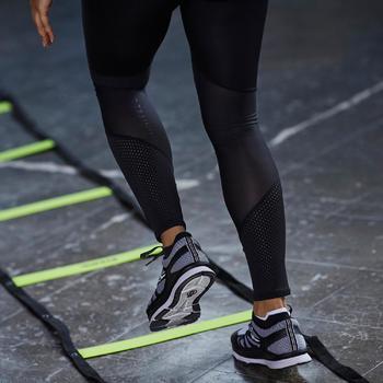 Fitnesslegging 900 cardiotraining dames zwart