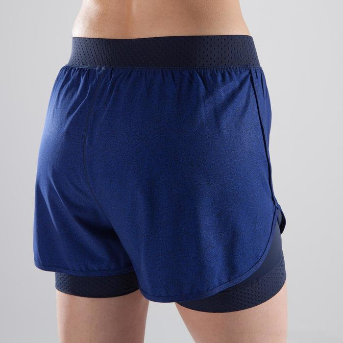 Short 2 en 1 fitness cardio-training femme 900 - 1357337
