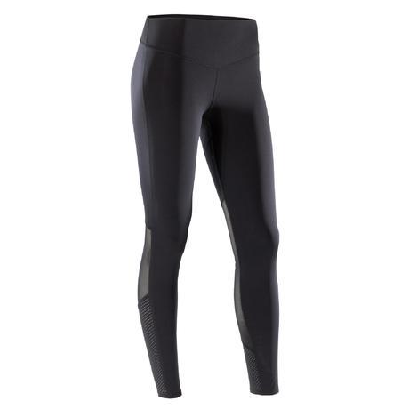 Legging cardio fitness femme noir 900  c8ae035d2eb