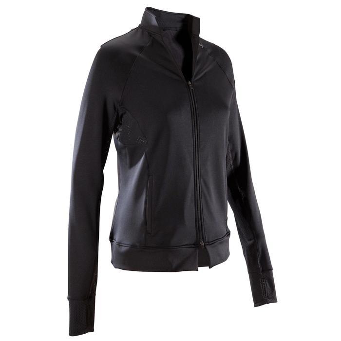 女款有氧健身外套900-黑色
