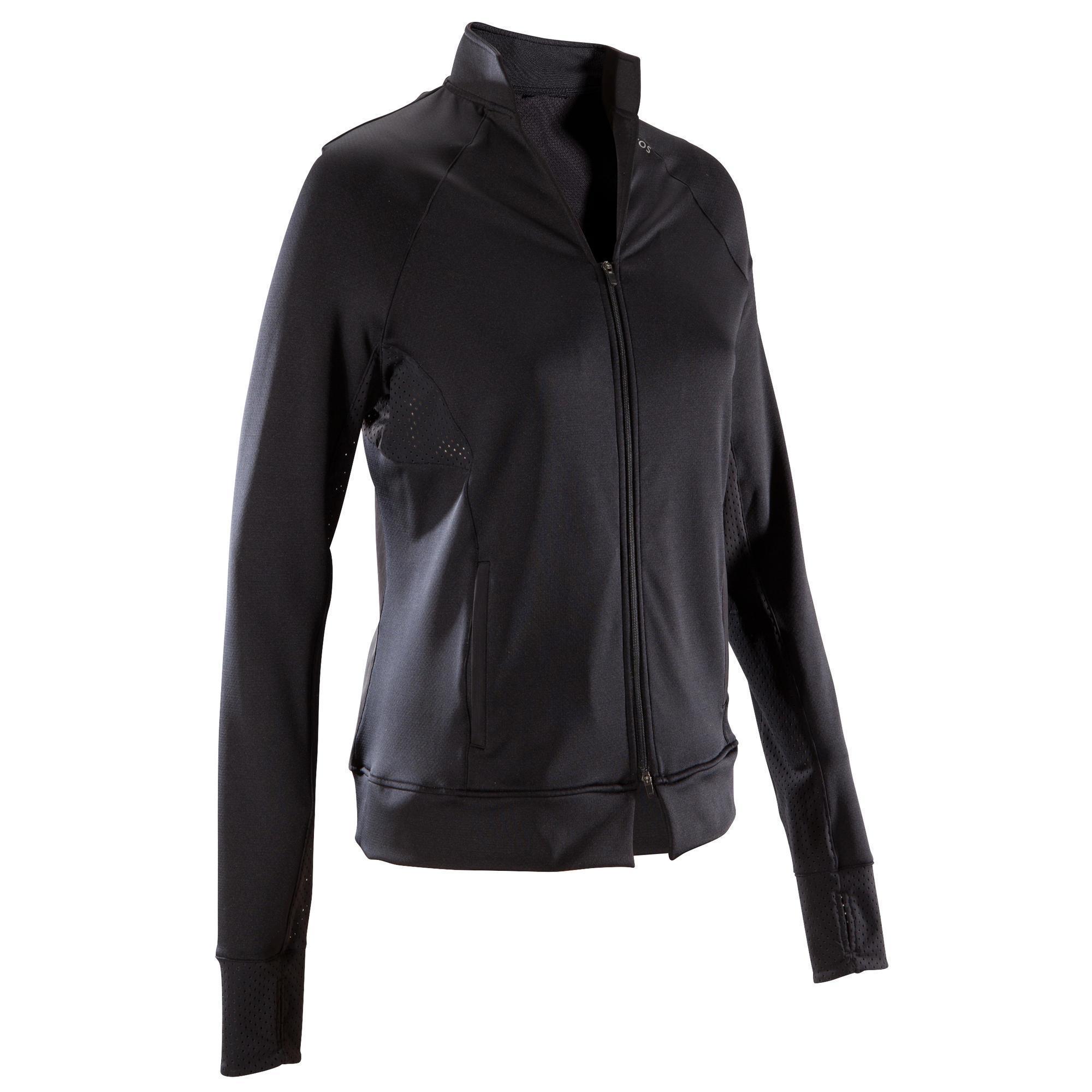 Domyos Fitness vest 900 voor dames, zwart