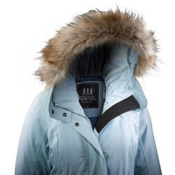 Wanderjacke Winterwandern SH500 Ultra-warm Damen eisblau