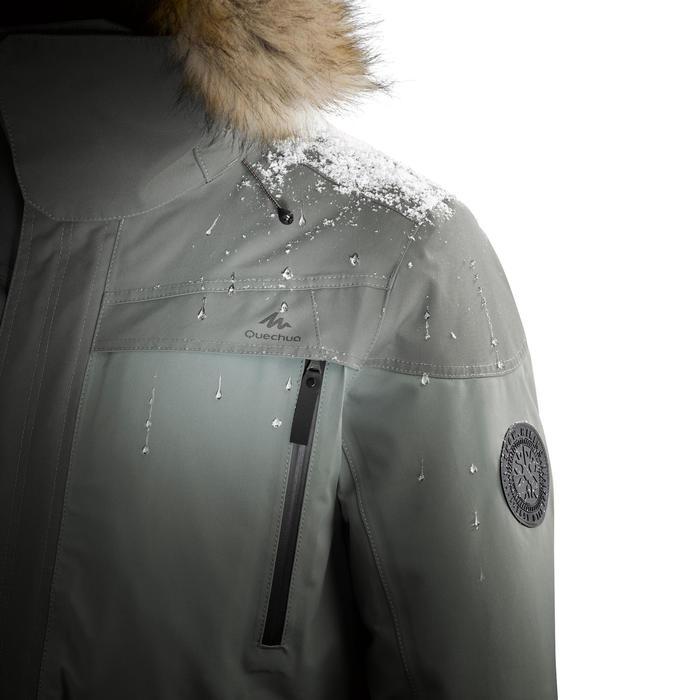 Pantalón de senderismo nieve hombre SH500 ultra-warm caqui.
