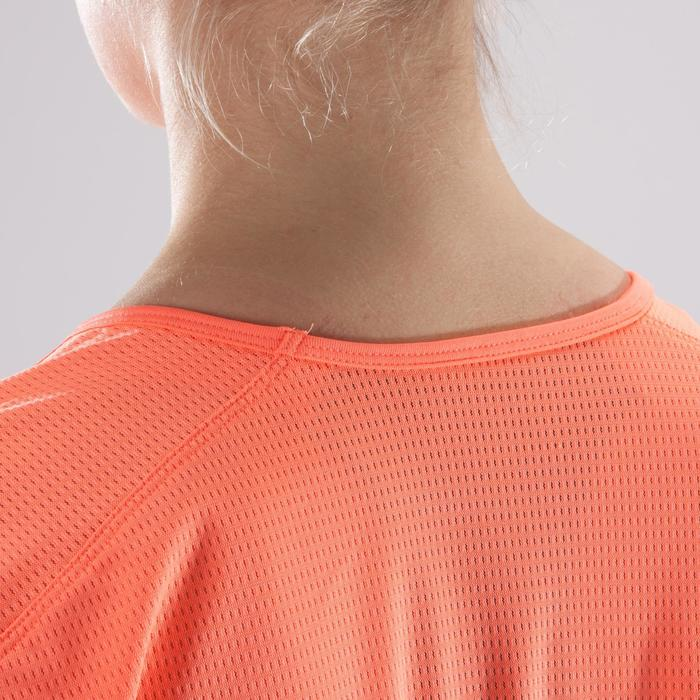 T-Shirt Cardio 120 Damen Fitness Koralle