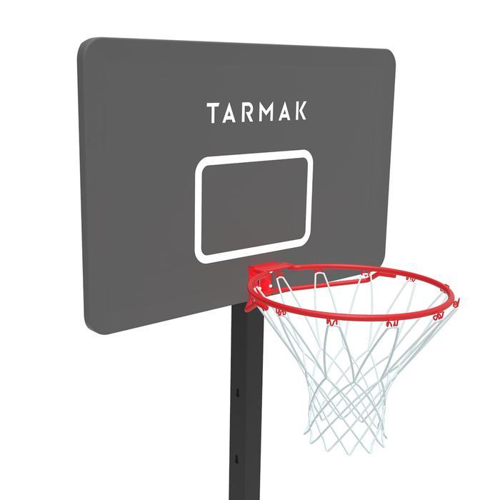 Panier de basket enfant/adulte B400 EASY noir rouge. 2,40m à 3,05m sans outils. - 1357814