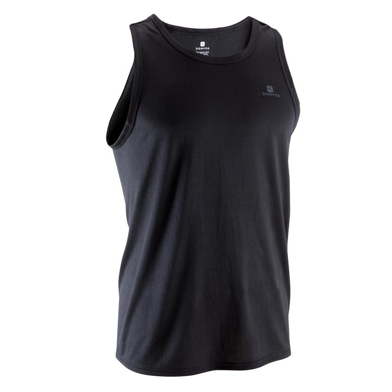 184a2e29103a42 Energy Cardio Fitness Tank Top - Black