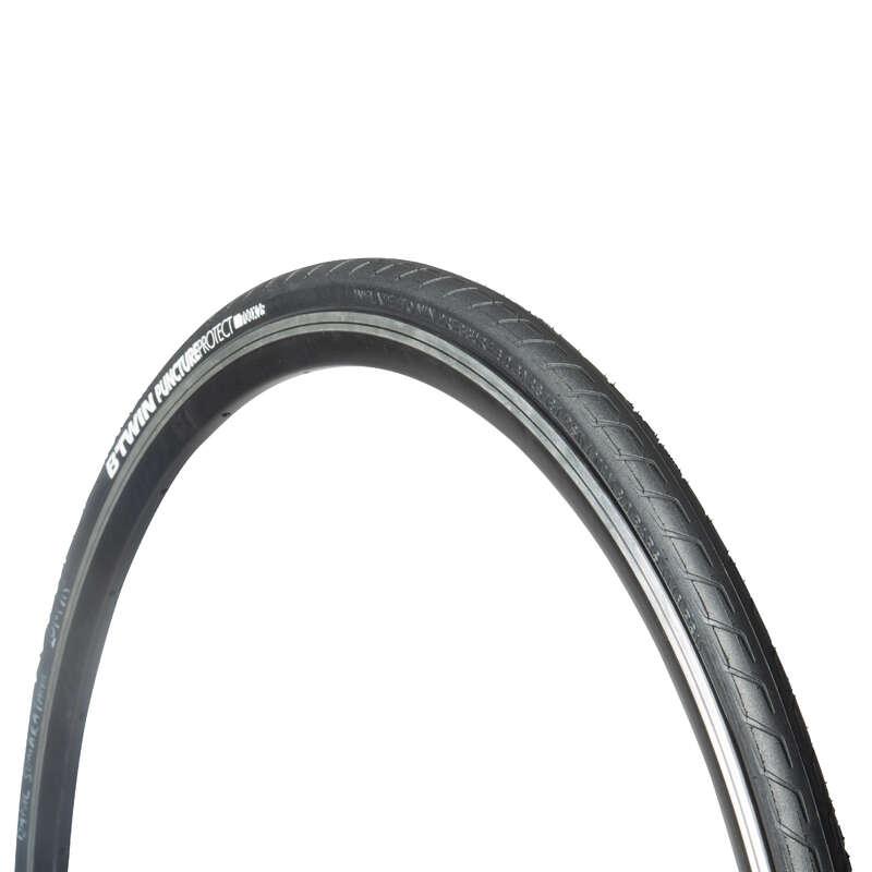 Opony do rowerów szosowych Rowery - OPONA RESIST 5 650x25 PROTECT BTWIN - Rowery