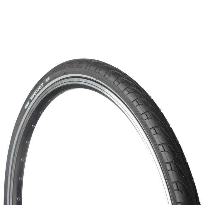 Buitenband voor racefiets Randonneur 700x28 antilekbescherming / ETRTO 28-622