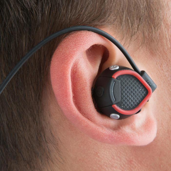 Ecouteurs sports sans fil ONEar Bluetooth NOIR ROUGE