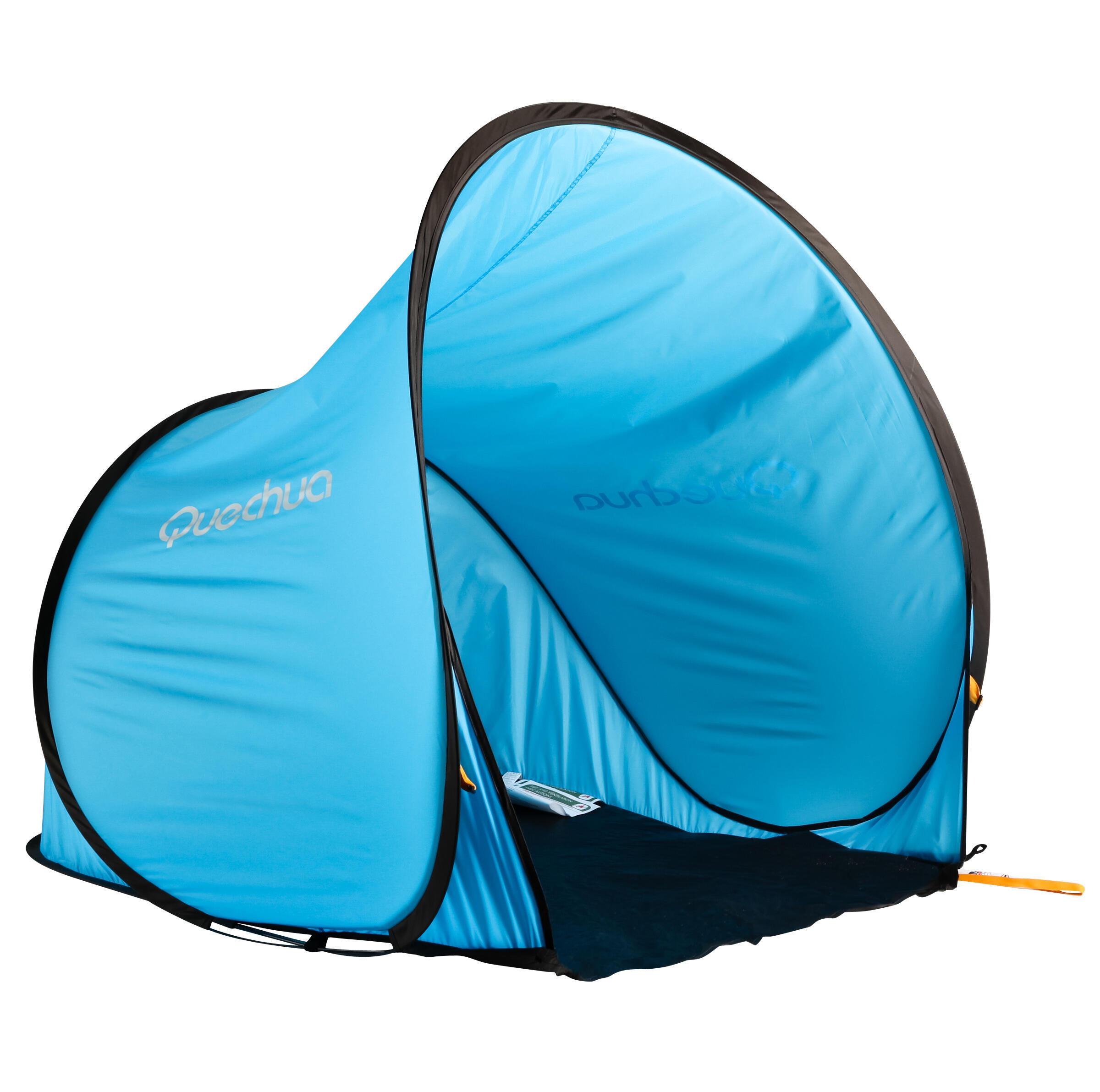 Abri De Camping 2 Seconds 1 Adulte Ou 2 Enfants Quechua Decathlon