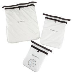 Set van 3 waterdichte kledinghoezen - 138685