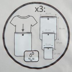 Set van 3 waterdichte kledinghoezen - 138713