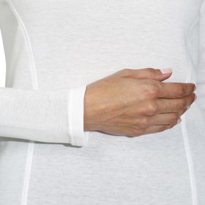 SOUS-VÊTEMENT DE SKI FEMME SIMPLE WARM BLANC