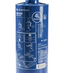 Handpomp 4 liter blauw - 139099