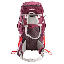 Backpack Easyfit voor dames 50 liter paars - 139154