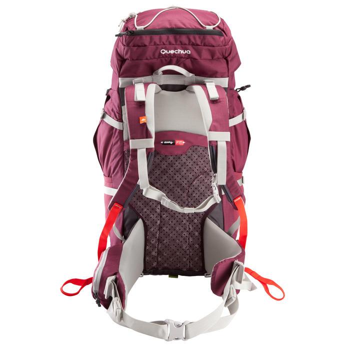 Sac à dos Trekking easyfit femme 50 litres violet - 139154