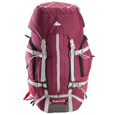 Easyfit Women's Mountain Trekking 50L Backpack - Purple