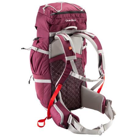 Sac à dos randonnée montagne 50 l EASYFIT femme violet