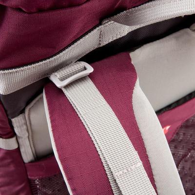 Жіночий рюкзак для трекінгу в горах з системою Easyfit, 50 л - Пурпуровий