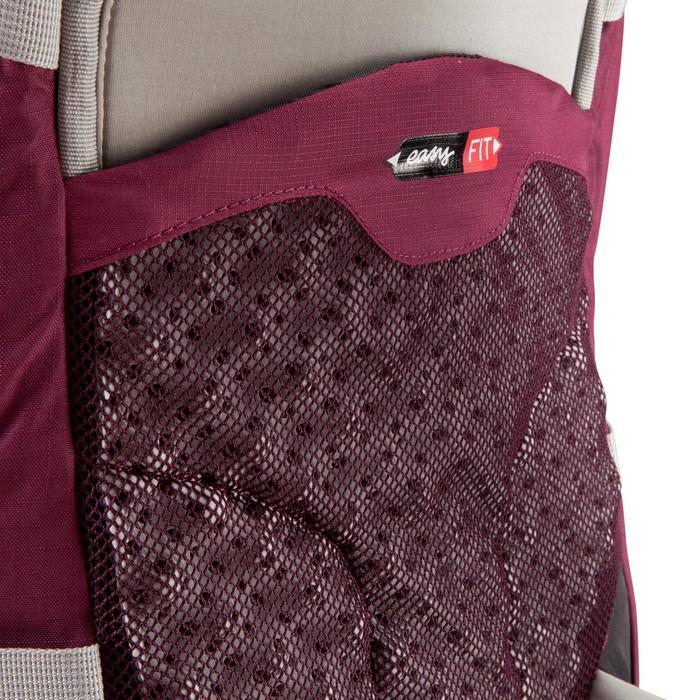 Sac à dos Trekking easyfit femme 50 litres violet - 139173