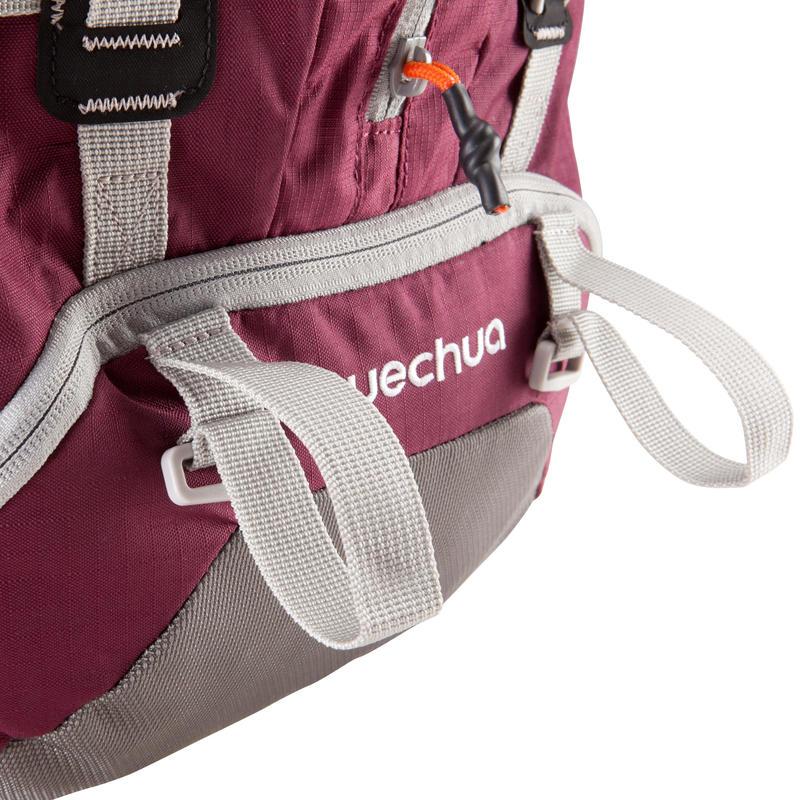 Mochila Trekking easyfit mujer 50 litros violeta