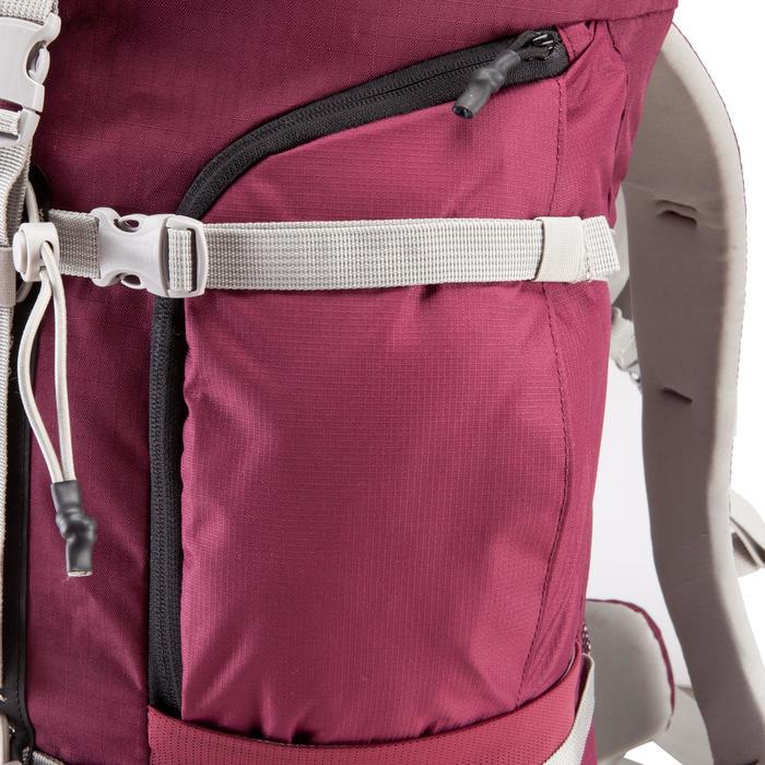 Sac à dos Trekking easyfit femme 50 litres violet - 139177