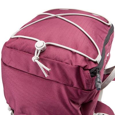 תרמיל גב לטיולים דגם Easyfit 50 ל' לנשים - סגול