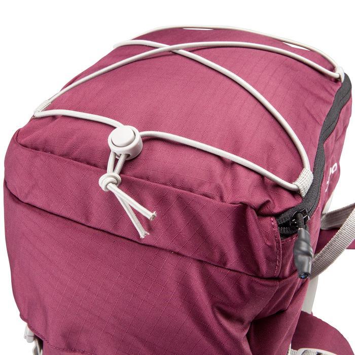 Sac à dos Trekking easyfit femme 50 litres violet - 139179