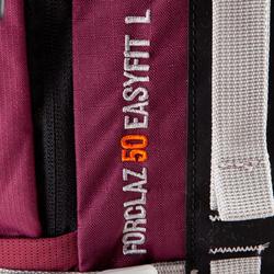 Backpack Easyfit voor dames 50 liter paars - 139192
