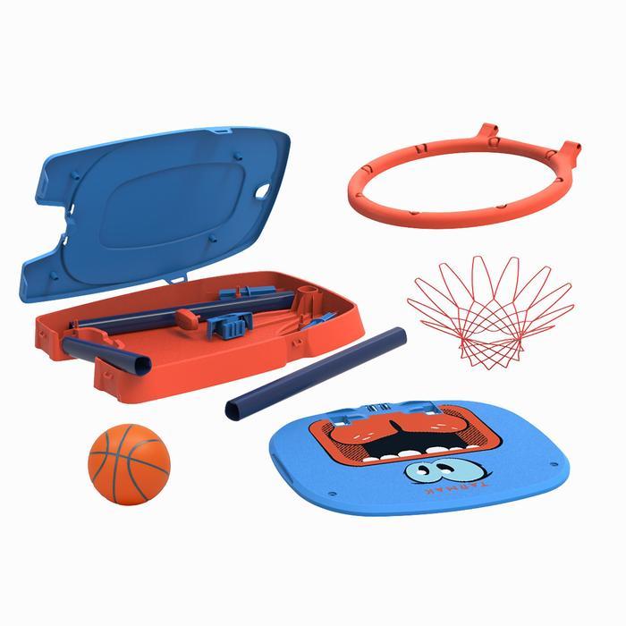 Panier de basketball pour enfant K100 Monstre bleu. 0,9m à 1,2m. Jusqu'à 5 ans. - 1396748