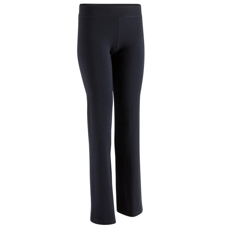 Jogginghose Regular Fit + Basic Damen schwarz