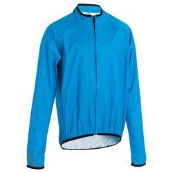 Chaqueta impermeable ciclismo júnior 300 azul
