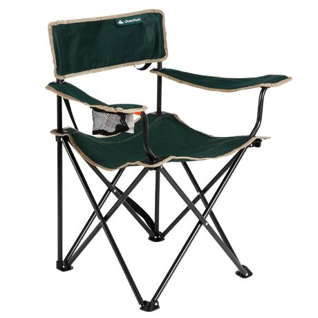 mobilier camping fauteuil pliant vert quechua. Black Bedroom Furniture Sets. Home Design Ideas