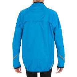 Regenjas fiets 300 voor kinderen blauw - 13980