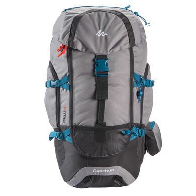 Morral Trekking Forclaz 50 litros Gris
