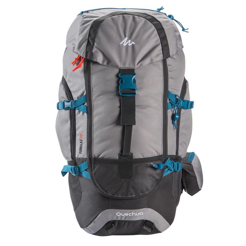 Travel Backpack Forclaz 50-Litre - Grey