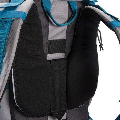 Forclaz 50-Litre Trekking Backpack - Grey