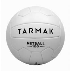 Balón de Netball NB100 blanco para jugadores(as) de netball nivel iniciación