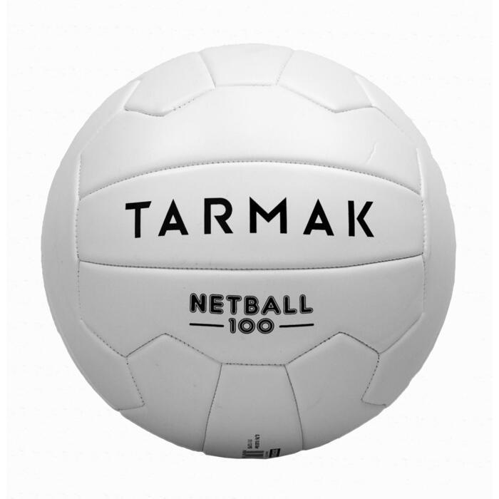 Ballon de Netball NB100 blanc pour joueur, joueuse de netball débutant(e) - 1398322