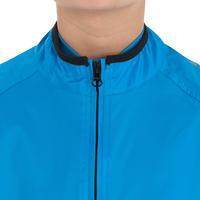 300 Cycling Waterproof Jacket Blue-Kids