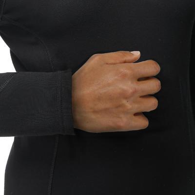 Чоловіча термофутболка 100 - Чорна